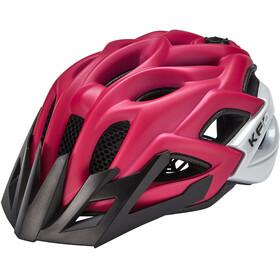 KED Status Helmet Kids pink purple matt